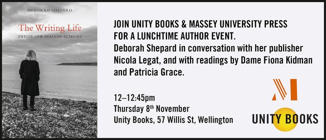 Lunchtime Event - The Writing Life by Deborah Shepard