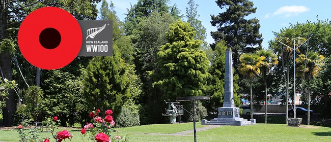 Armistice Day Te Kuiti Memorial Service