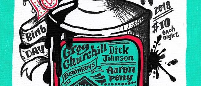 Churchill, Keys, Johnson, Antix, Aaron Pony & Guest