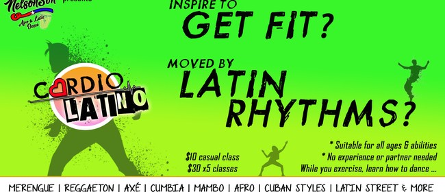 Cardio Latino (New Fitness Class)