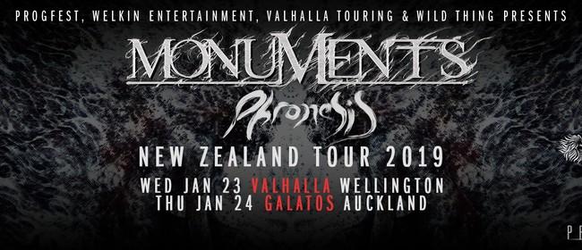 Monuments 'Phronesis' NZ Tour 2019