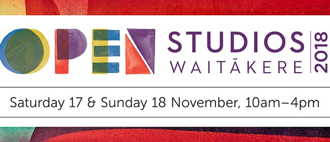 Open Studios Waitakere 2018 -  Bus Tours