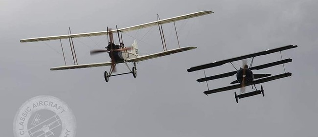 NZ Warbirds Association WW100 Armistice Day Flypast