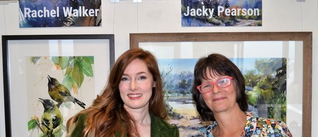 Rachel Walker and Jacky Pearson Solo Exhibitions