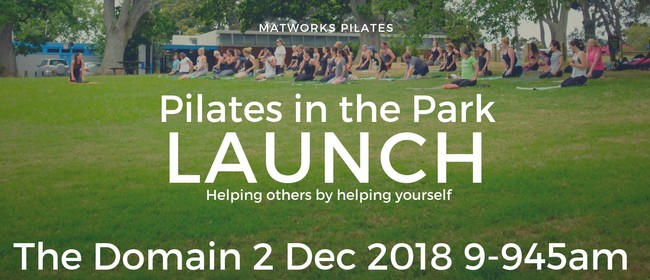 Pilates In the Park Launch
