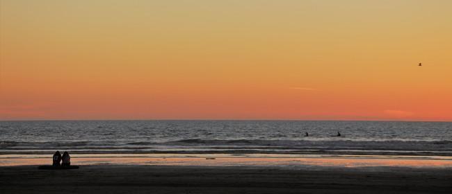 Twilight Beach Walk – Himatangi Beach to Foxton Beach