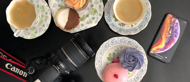 Ladies Social Photography Camera Coffee Cake & Conversations