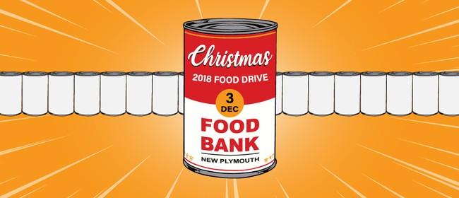 The Christmas Food Bank Food Drive