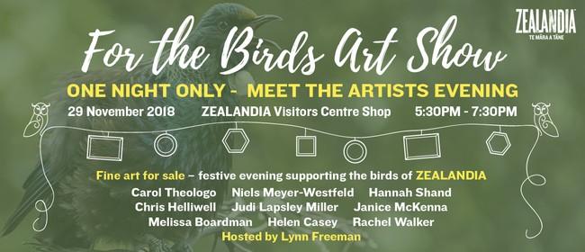 For the Birds Art Show