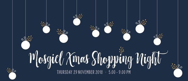 Mosgiel Xmas Shopping NIght