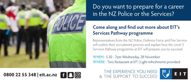 Prepare for A Career In the NZ Police Or the Services