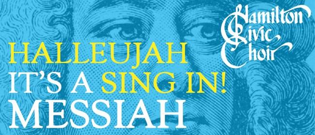 Hallelujah! It's a Sing-in Messiah!