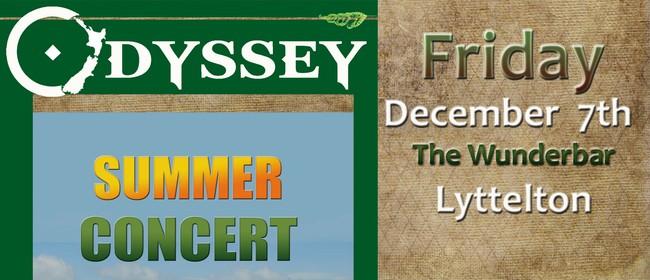 Odyssey Summer Concert: CANCELLED