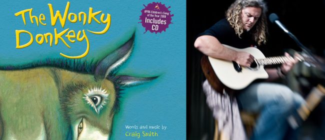 Story Time with Wonky Donkey Author Craig Smith
