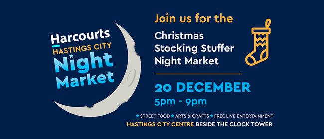 Harcourts Hastings City Christmas Stocking Stuffer Market