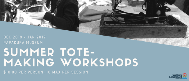 Summer Tote-Making Workshops