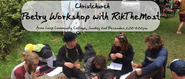 Poetry Workshop with RikTheMost