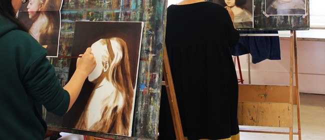 Studio One Toi Tū - Portrait Painting In Oil