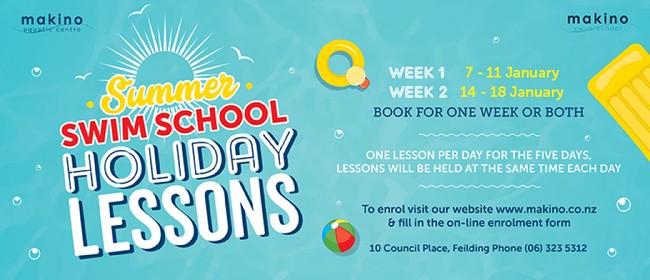 Summer Swim School Holiday Lessons - Week One