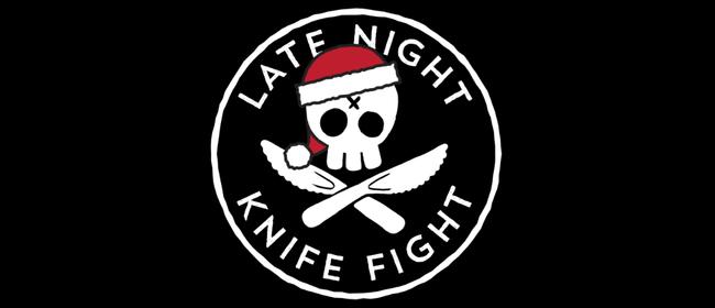 Late Night Knife Fight: A Christmas Battle