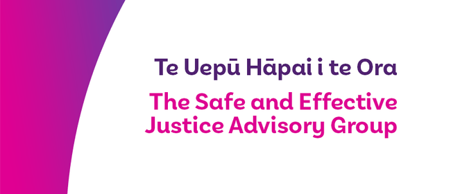 Safe and Effective Justice - Hastings Public Conversation