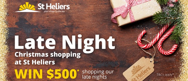 St Heliers Late Night Christmas Shopping