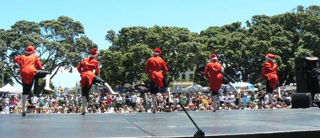 The Devonport Christmas Festival Dance In the Park