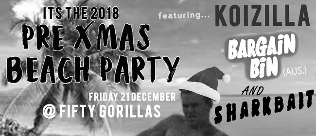 The 2018 Pre-Xmas Beach Party