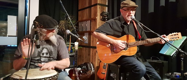 Barrel Room Blues with Mike Garner & Warren Houston
