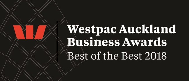 Westpac Auckland Business Awards Best of the Best for 2018