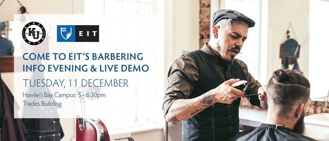 Barbering Info Evening & Live Demo