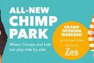 Wellington Zoo Chimp Park Grand Opening Weekend