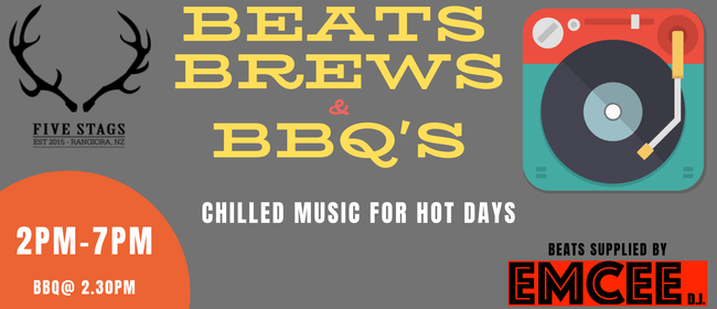 Beats, Brews and BBQ's