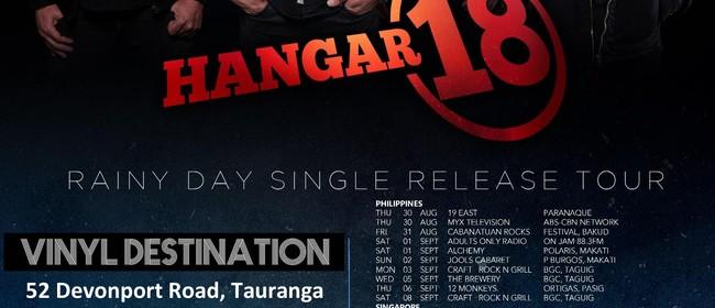 Hangar 18 Rainy Day NZ Summer Tour - Tauranga