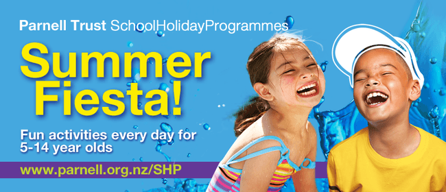 Ginormous Bubble Fun - Parnell Trust Holiday Programme