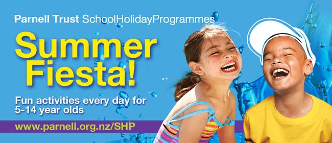 Potters Park Splashdown - Parnell Trust Holiday Programme