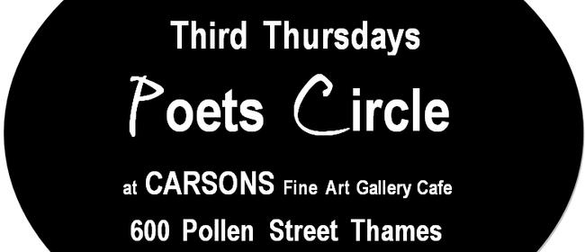 Poets Circle Thames Dec + Poartry