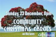 Community Christmas Carols On the Lawn