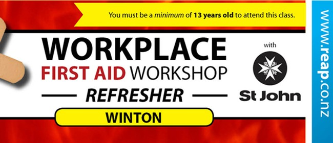 Winton St. John Workplace First Aid Refresher
