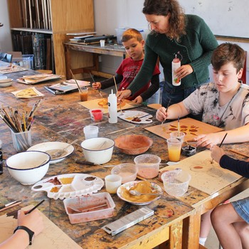 Studio One Toi Tū - Eco Art: Painting with Earth Colours