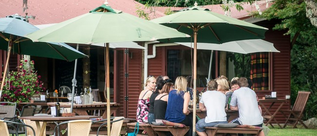 Wine tasting, platters, reverse BYO and holiday relax