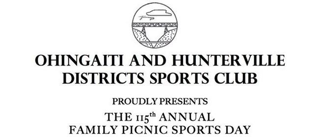 Ohingaiti & Hunterville Districts Sports Day