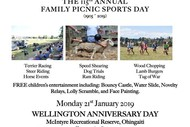 Ohingaiti & Hunterville Districts Sports Day
