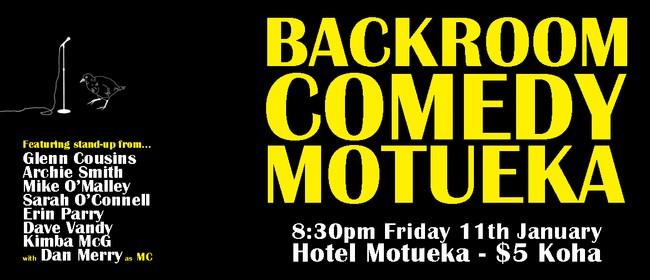 Backroom Comedy Motueka 2