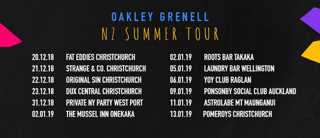 Oakley Grenell Summer NZ Tour