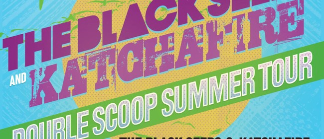 The Black Seeds and Katchafire Double Scoop Summer Tour