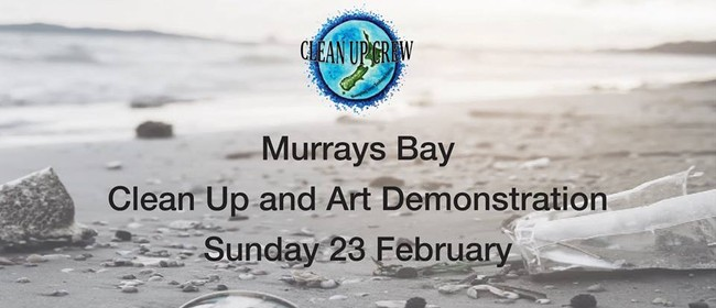 Murrays Beach Clean Up and Art