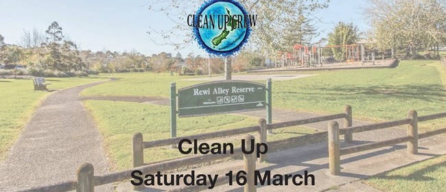 Rewi Alley Reserve Clean Up