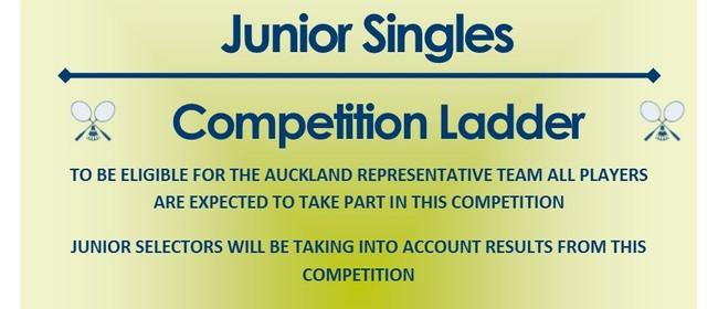 Junior Singles Ladder 2019