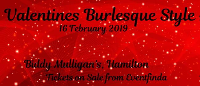 Valentine's Burlesque Style